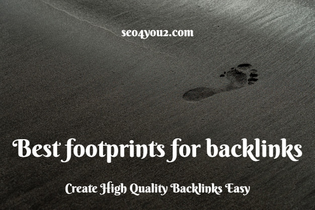 best footprints for backlinks 2020